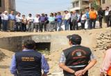 Son más de 300 familias asentadas en las quebradas de León y San Ildelfonso las que deben ser reubicadas.